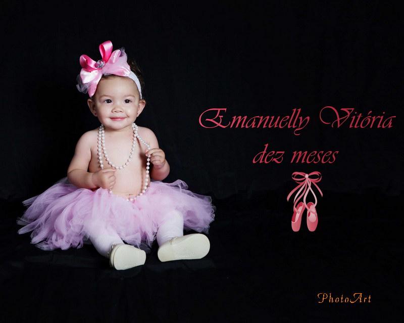 Não Há Nada Nesse Mundo Maior Que Meu Amor Por Você Filha: Emanuelly Vitória (Flávia) 10 Meses